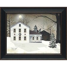Silent Night Framed Painting Print