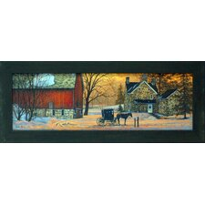 <strong>Artistic Reflections</strong> Evening Visit Framed Art