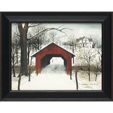 To Grandmother's House We Go Framed Painting Print