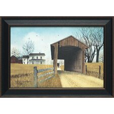 The Old Miller's Creek Bridge Framed Painting Print