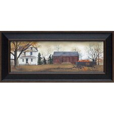 Pumpkins for Sale Framed Art