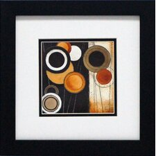 Tangents I Framed Painting Print