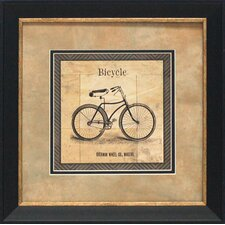 <strong>Artistic Reflections</strong> Bicycle Framed Art