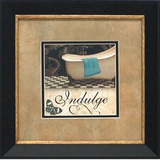 Indulge Framed Art