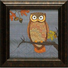 Awesome Owls II Framed Graphic Art