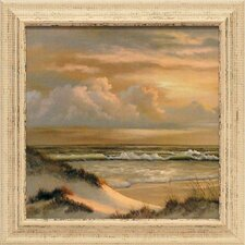 <strong>Artistic Reflections</strong> Golden Skies I Framed Art