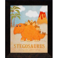 <strong>Artistic Reflections</strong> Stegosaurus Framed Art