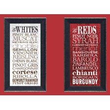The Whites Framed Textual Art