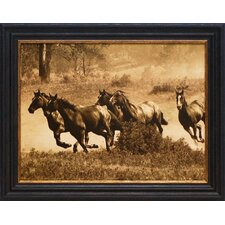Wild Horses II Framed Art