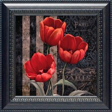 Paris Fleurs I Framed Art