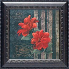 Paris Fleurs II Framed Art