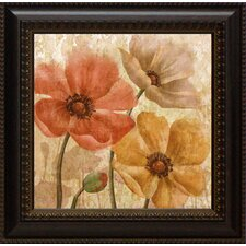 Poppy Allure II Framed Graphic Art