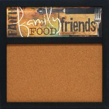 """Food and More 1' 8"""" x 1' 8"""" Bulletin Board"""