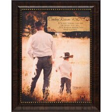 <strong>Artistic Reflections</strong> Cowboy Reason #30 Framed Art