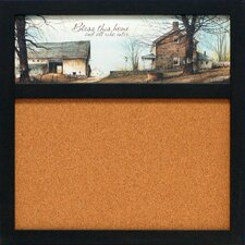 """Bless this Home 1' 8"""" x 1' 8"""" Bulletin Board"""
