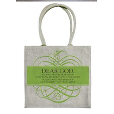 Dear God Tote Bag