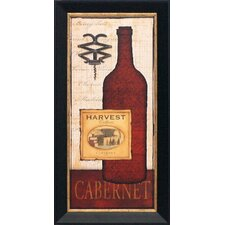 Cabernet Framed Graphic Art