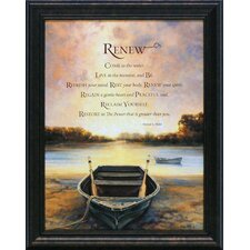Renew Framed Graphic Art