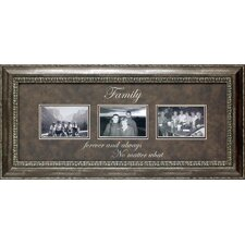 <strong>Artistic Reflections</strong> Family…Forever and Always Framed Art