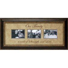 <strong>Artistic Reflections</strong> Our Family…a Circle of Strength Framed Art