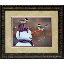 Winter Visitors Framed Photographic Print