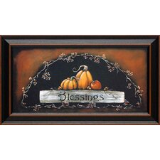 Blessings Framed Painting Print