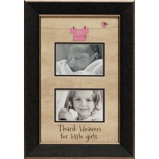 Thank Heaven for Little Girls Photo Frame