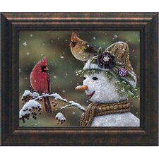 Winter Visitors II Framed Art