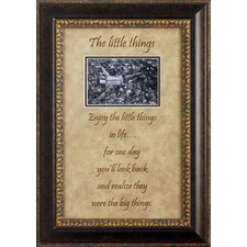 The Little Things Photo Frame