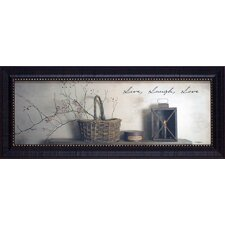 <strong>Artistic Reflections</strong> Live Laugh Love Framed Art