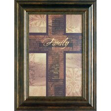 Family Framed Textual Art