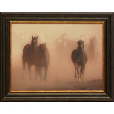 <strong>Artistic Reflections</strong> Ghost Horses Framed Art