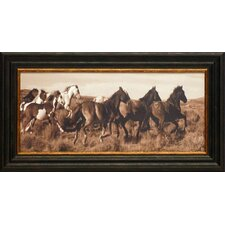 <strong>Artistic Reflections</strong> Wild Horses Framed Art