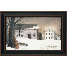 Christmas Times a Coming Framed Painting Print