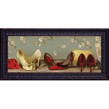 <strong>Artistic Reflections</strong> Shoe Lineup Framed Art