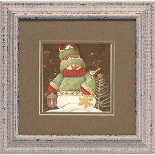 Sweater Snowman 1 Framed Art