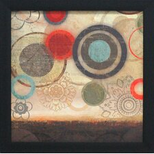 <strong>Artistic Reflections</strong> Colorful Elements I Framed Art