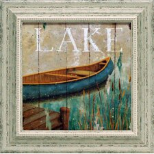 Waterside I Framed Painting Print