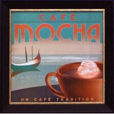 Café Mocha Framed Art