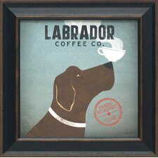Labrador Coffee Co. Framed Art
