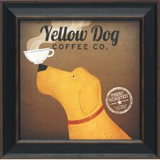 Yellow Dog Coffee Co. Framed Vintage Advertisement