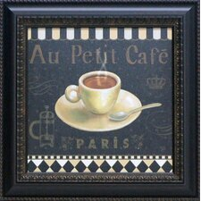 Café Parisien II Framed Vintage Advertisement
