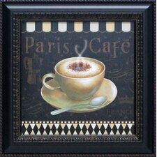 Café Parisien III Framed Vintage Advertisement