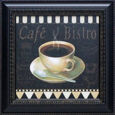 Café Parisien IV Framed Vintage Advertisement