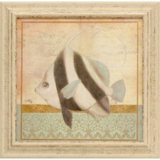 Vintage Fish I Framed Art