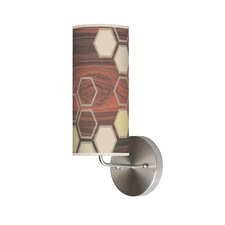 Organic Modern Hex Wall Sconce