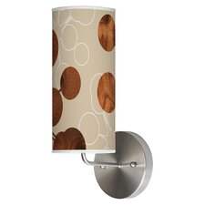 Organic Modern 1 Light Bubble Wall Sconce