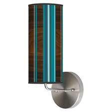<strong>Jef Designs</strong> Organic Modern 1 Light Stripey Vertical Wall Sconce