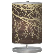 Organic Modern Branch Cylinder Table Lamp