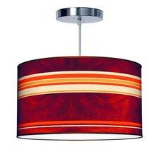 Organic Modern Stripey Horizontal Pendant